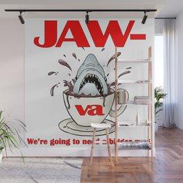 Jaw-va Wall Mural