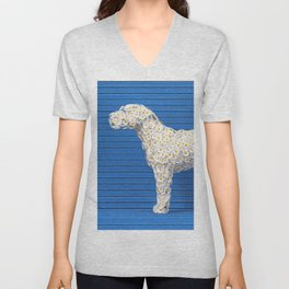 Daisy Dog Unisex V-Neck