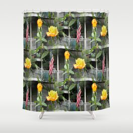 Happy Labor Day! Shower Curtain