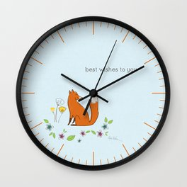 Best wishes to you Wall Clock
