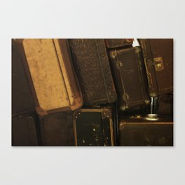 My old suitcases Canvas Print
