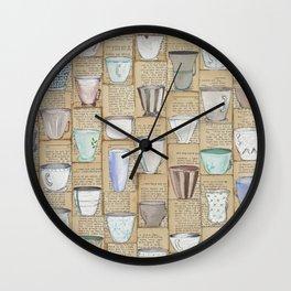I Don't Drink Tea Wall Clock