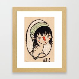 Allie Framed Art Print