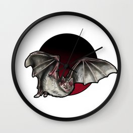 Vampire Bat Wall Clock
