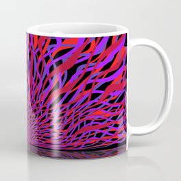 radial layers 16, sunrise Coffee Mug
