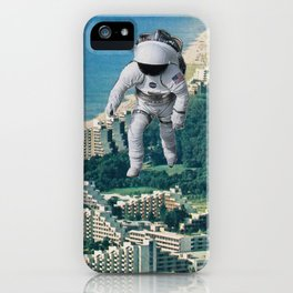 Walking on the  iPhone Case