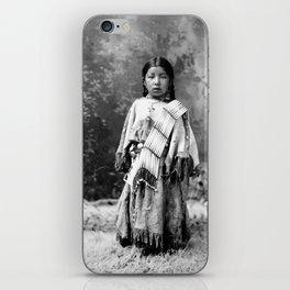 Dakota Sioux Little Girl iPhone Skin