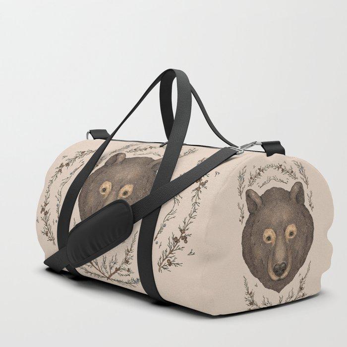 The Bear and Cedar Duffle Bag