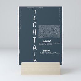 Techtalk Poster Mini Art Print