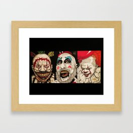 Clowning Around Framed Art Print