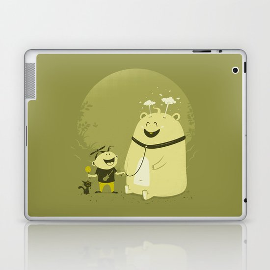 Meet Momo Laptop & iPad Skin