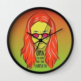 Humberto Gessinger - Rock Brasileiro Wall Clock