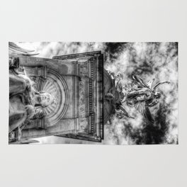 Queen Victoria Memorial London Rug