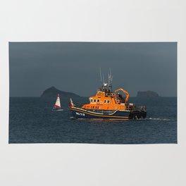 RNLI Lifeboat Torbay Rug