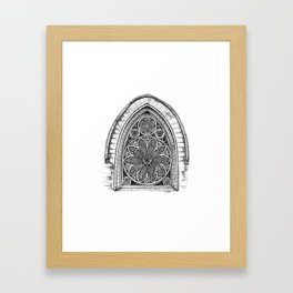 Intricate Architecture Framed Art Print