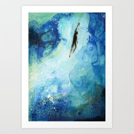 Deep Water Art Print