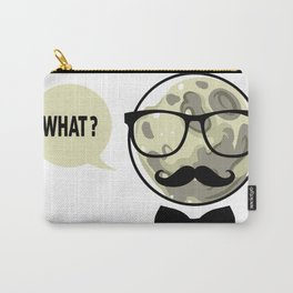 Moon - What? Carry-All Pouch