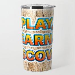 Play, Learn & Discover Travel Mug