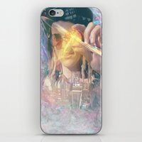 occult iPhone & iPod Skins featuring Olwen's Occult by Devin C. Fitzpatrick