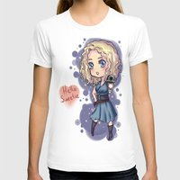 river song T-shirts featuring Chibi River Song   by Midnight Tardis