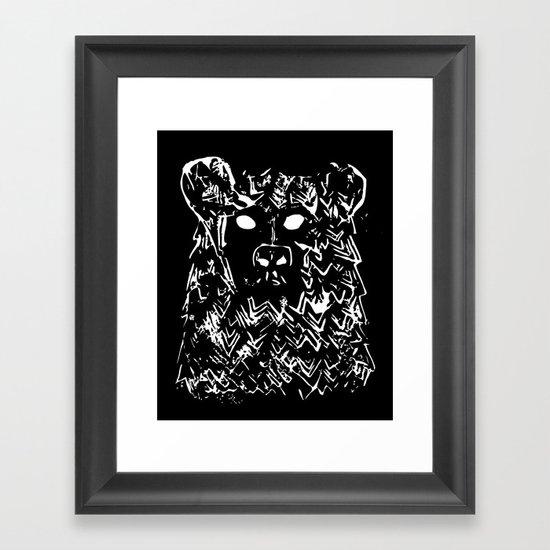 Bear With It Framed Art Print