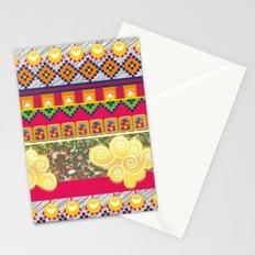Futuro incierto, corazón contento! Stationery Cards