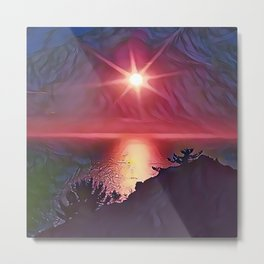 Lake Toba Metal Print