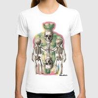bones T-shirts featuring BONES by MANDIATO ART & T-SHIRTS