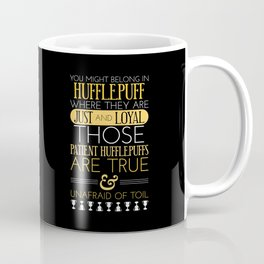 Hufflepuff Coffee Mug