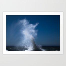 Abstract Waves no. 2 Art Print