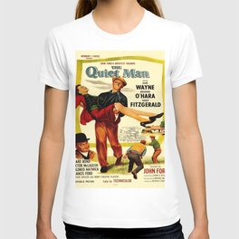 Vintage poster - The Quiet Man T-shirt