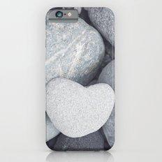 Heart Shaped Rock Slim Case iPhone 6s