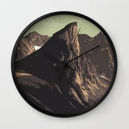 Auyuittuq National Park Wall Clock