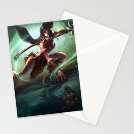 Classic Nidalee League Of Legends Stationery Cards