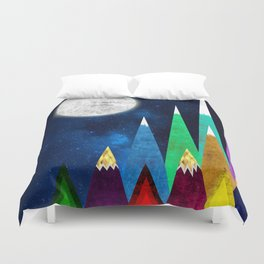 Great Moonlight Duvet Cover