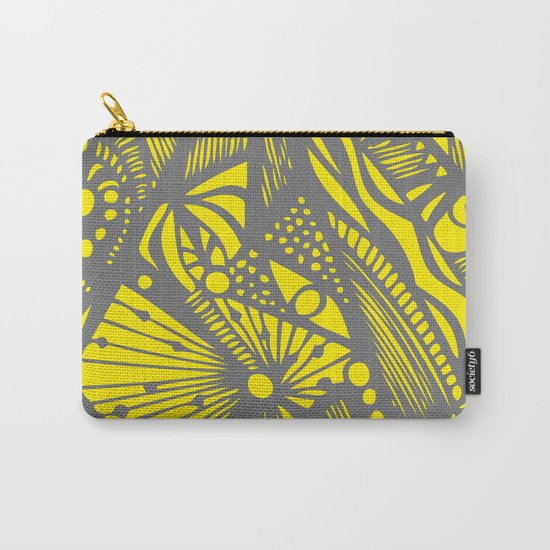 INK#10 Crazy Bun Carry-All Pouch