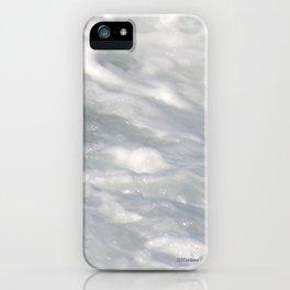 TEXTURES: Laguna Beach Sea Foam #2 iPhone Case