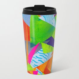 Tumbling Neon Travel Mug