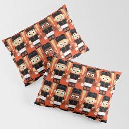 Baseball Black and Orange - Super cute sports stars Pillow Sham