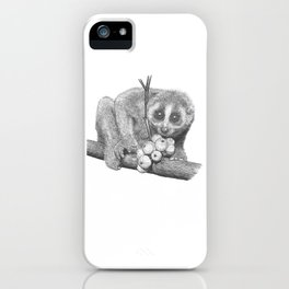 Slow Loris (Kera Duku) iPhone Case