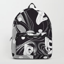 History of Art in Black and White. Surrealism Backpack