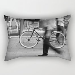 Bicycle is waiting for you Rectangular Pillow