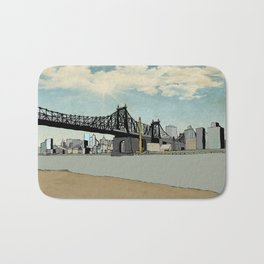 Manhattan, New York City Bath Mat