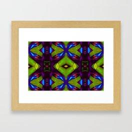 Jucy Green Framed Art Print