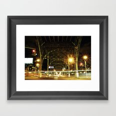 Under The Bridge Framed Art Print