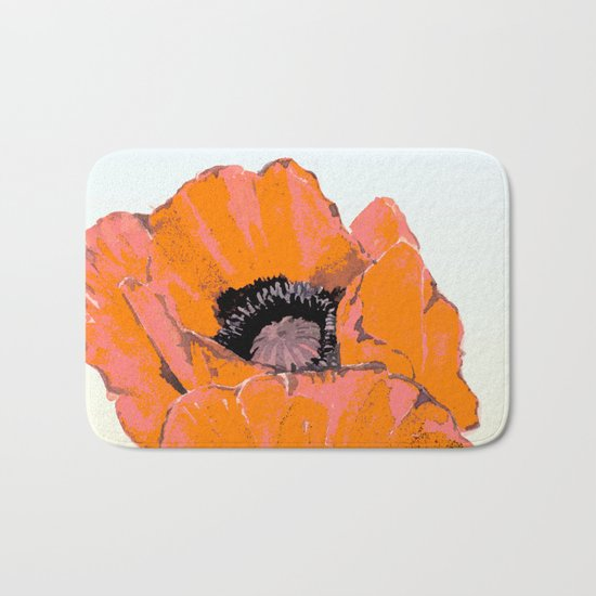 And they call it  Poppy  Love Bath Mat