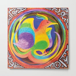 Phoenix; Embryonic Metal Print