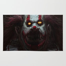 Killer Clown Rug