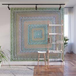 Timeless Crochet Wall Mural