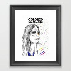 Colored Imagination #2 Framed Art Print